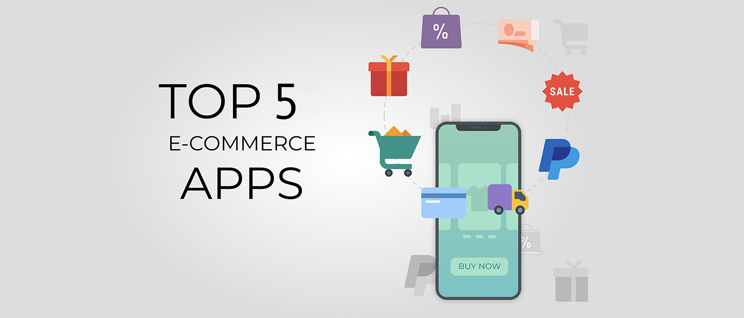 top5 ecommerce app templates with source code