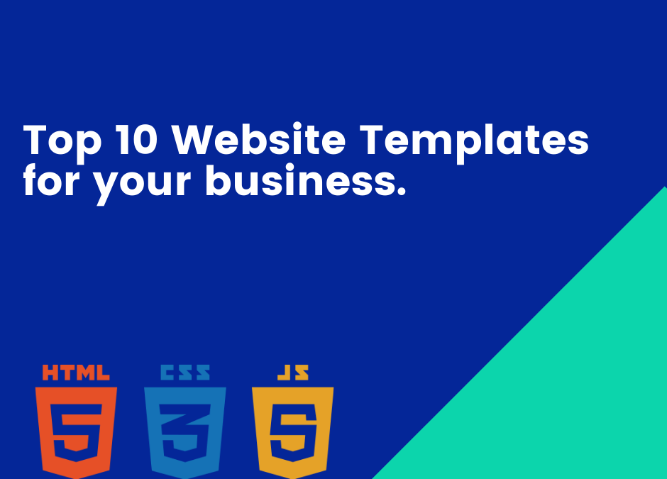 Top 10 Website templates with source code on PieceX