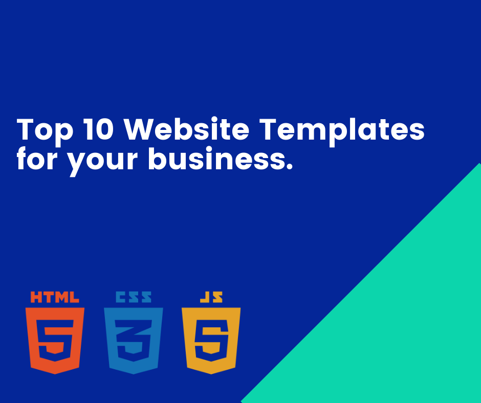 Top 10 website templates with source code